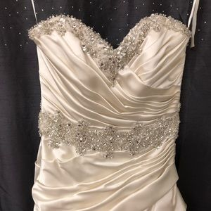 🆕 stunning ivory wedding dress